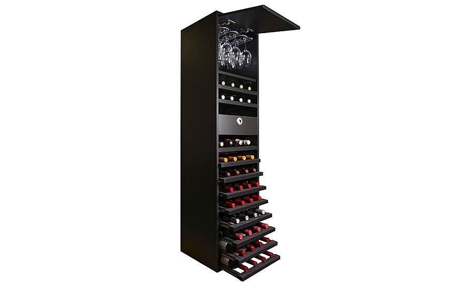 Botellero merlot vip con capacidad para 44 botellas vino for Muebles para vinotecas