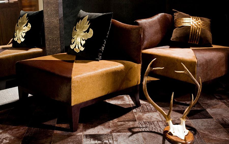 Butaca animal print marilyn en cosas de arquitectoscosas for Butacas coloniales