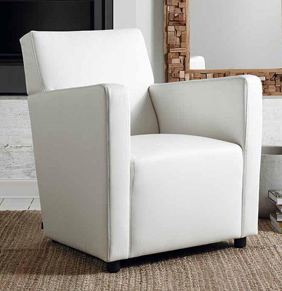 Muebles MC Interiores:  Butaca Blanca Sally - Butacas de Diseño - Muebles de Diseño