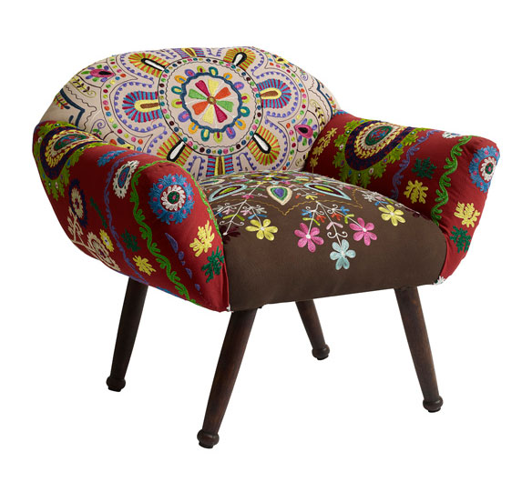 Butaca hippy chic boho no disponible en for Muebles hippies