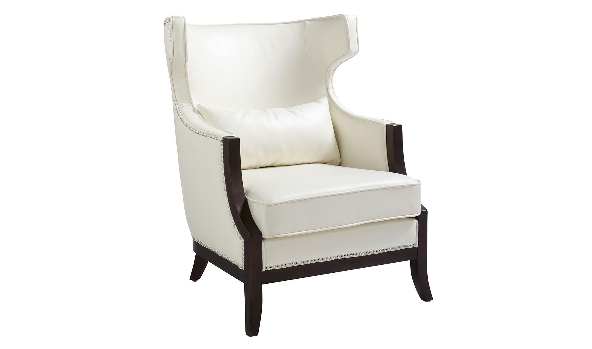 Butaca vintage calcutta piel blanca en - Consolas clasicas ...