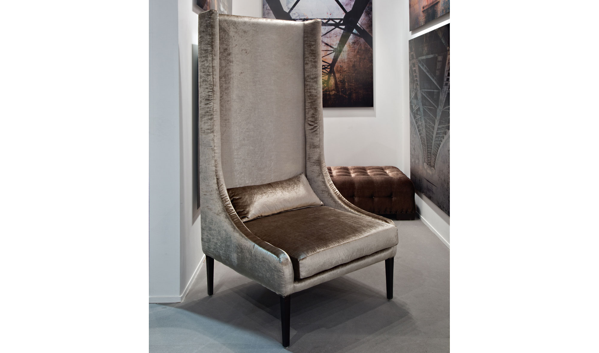Butaca Alta Moderna Megeve En Portobellostreet Es # Muebles Butacas Modernas