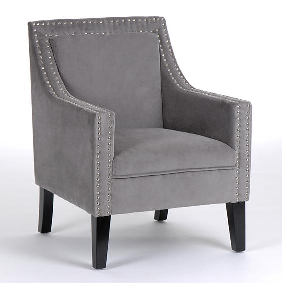 Butaca gris vintage vendome no disponible en for Disenadores de sillas modernas
