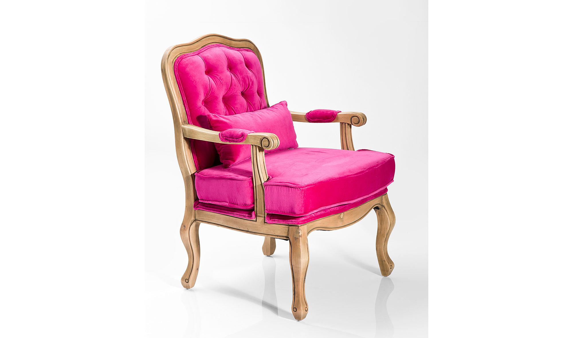 Butaca vintage rosa dido no disponible en for Muebles rosas