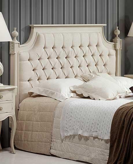 Cabecero 150 la rochelle bresse tapizado no disponible en - Como tapizar un cabecero de cama ...