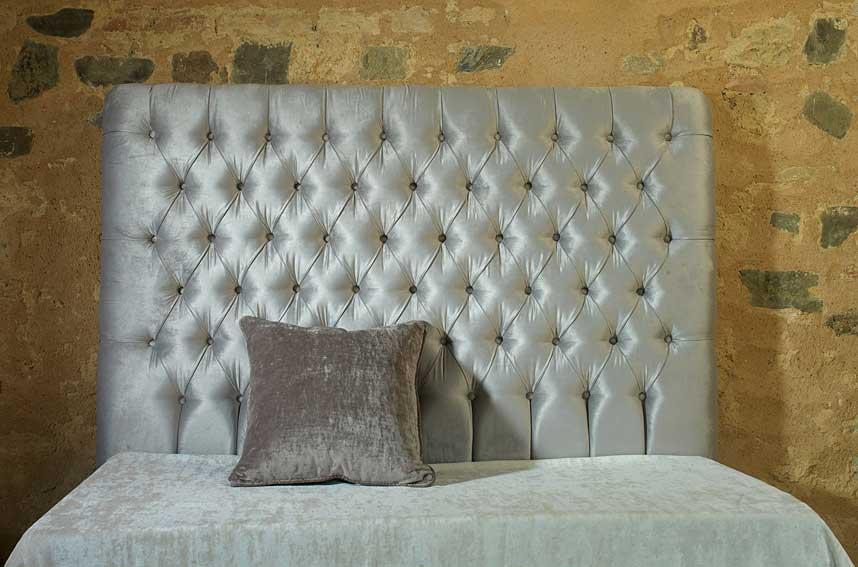 Cabecero tapizado capiton en - Cabeceros de cama capitone ...
