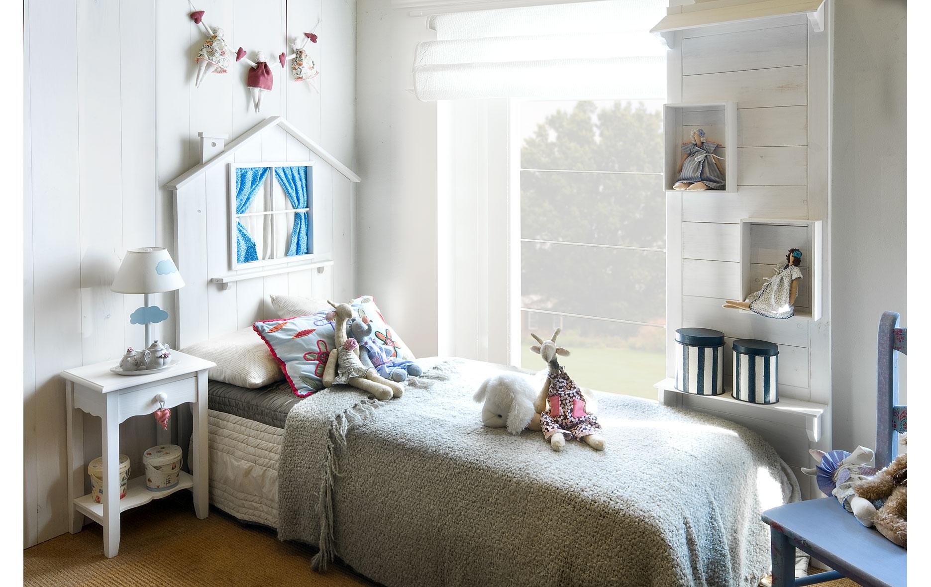 Cabecero infantil ventana en - Cabecero cama infantil ...
