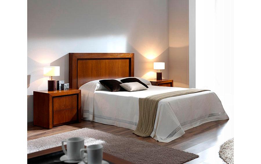Cabecero moderno madera para cama 150 Rimon en Portobellostreet.es