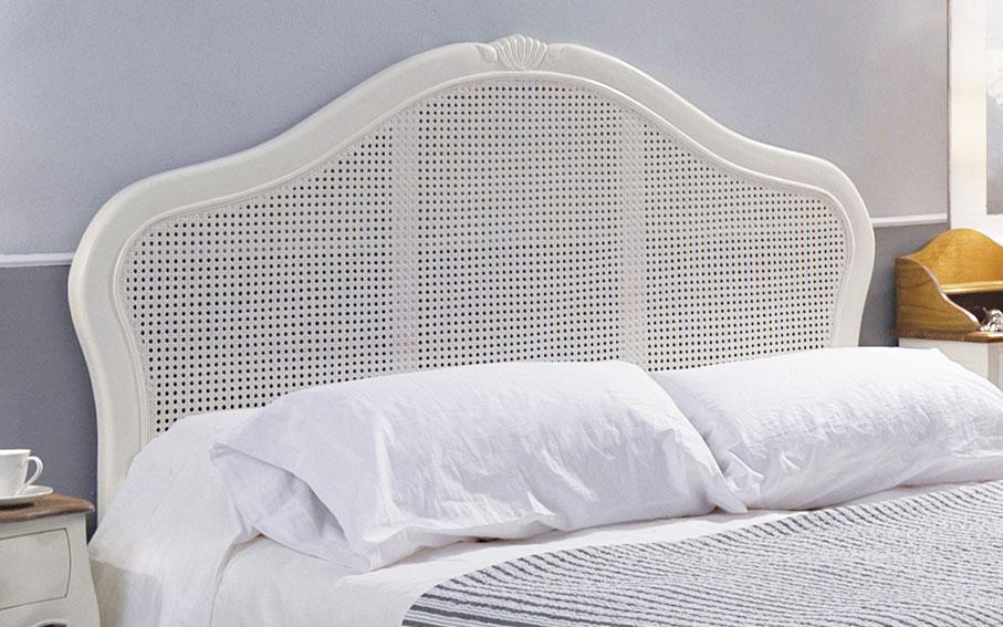 Cabecero rejilla vintage par s en - Cabeceros de cama blancos ...