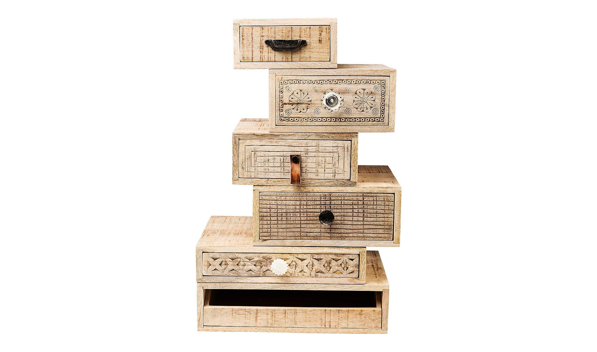Cajonera vintage puro 6 cajones en for Ixia muebles
