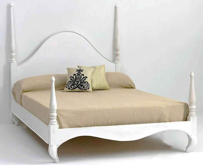 Cama vintage adlon blanco roto no disponible en - Muebles blanco roto ...