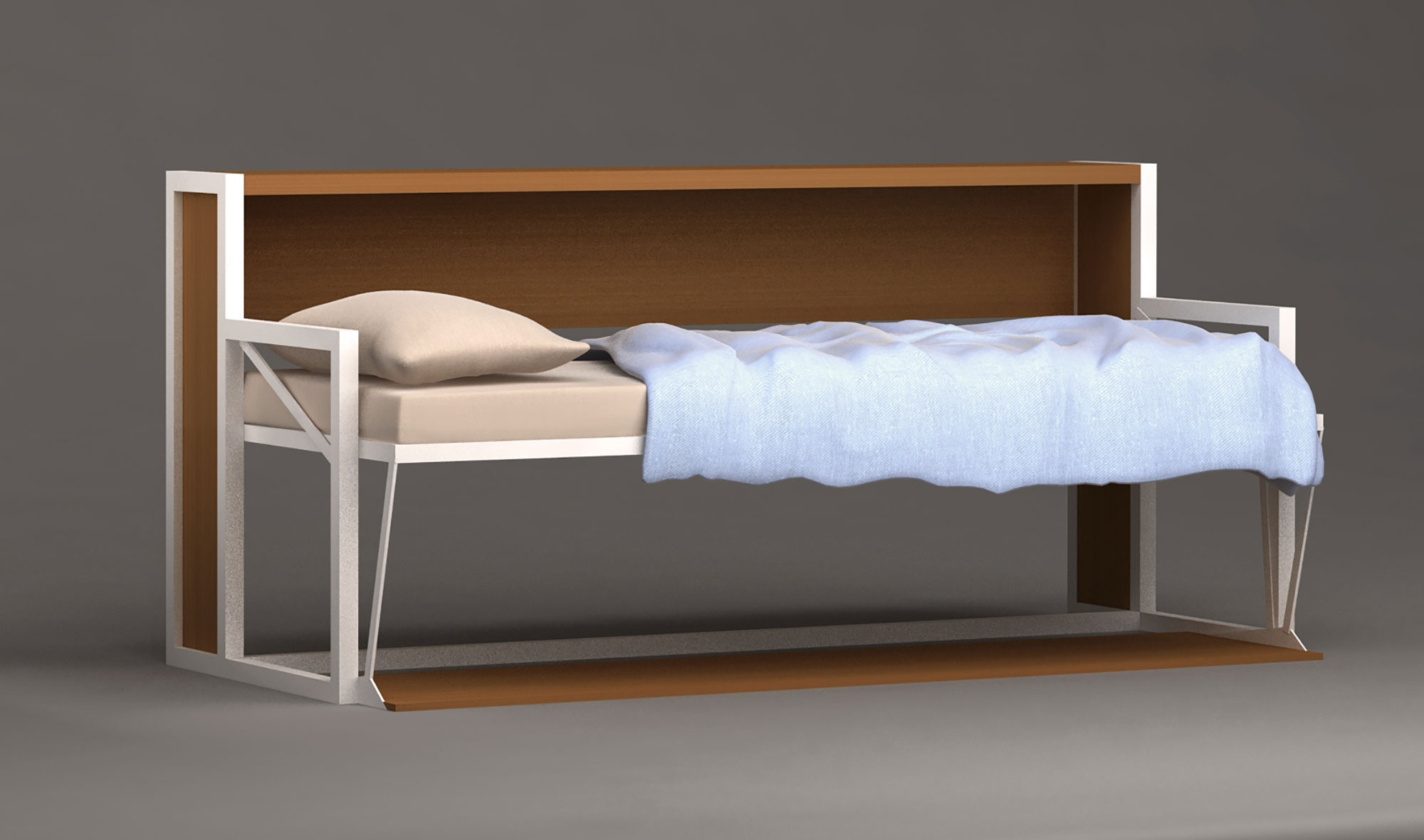 Cama Abatible Convertible En Escritorio B Esk No Disponible En  # Muebles Covertibles
