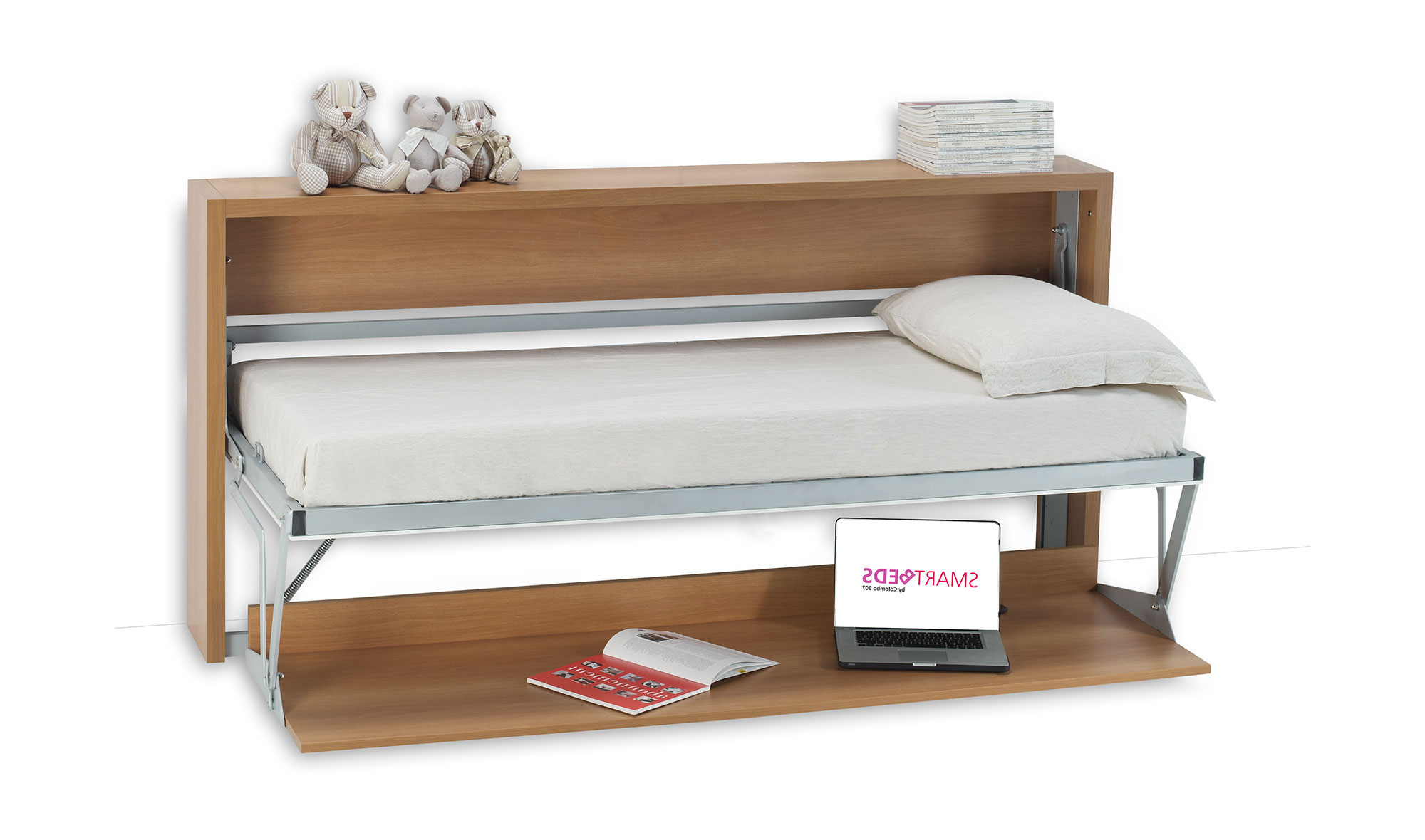 Cama abatible convertible en escritorio joker no disponible en - Cama abatible escritorio ...