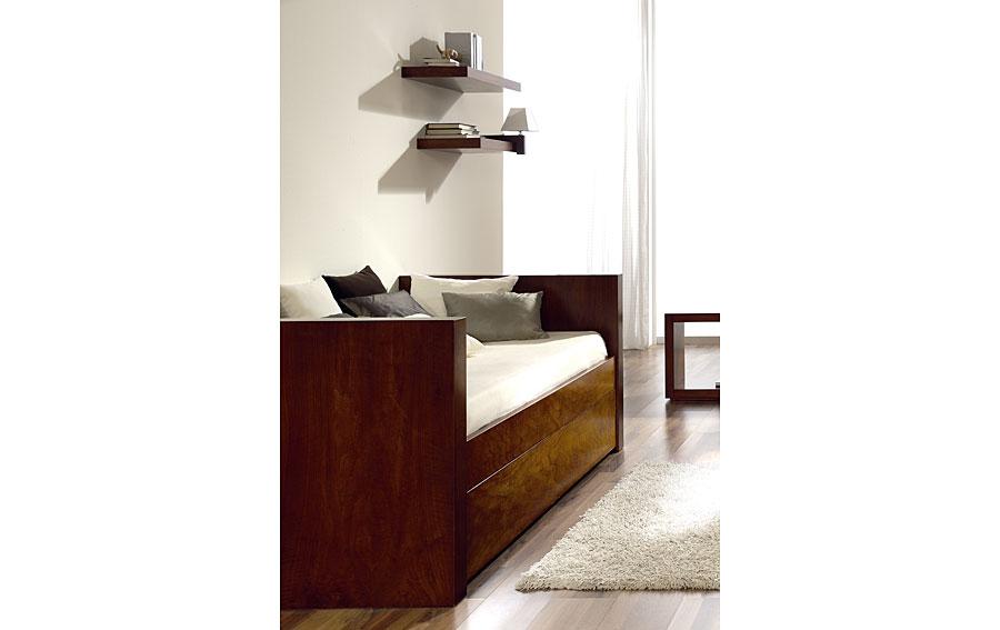 Cama nido madera moderna minu en cosas de arquitectoscosas - Camas nido de madera ...
