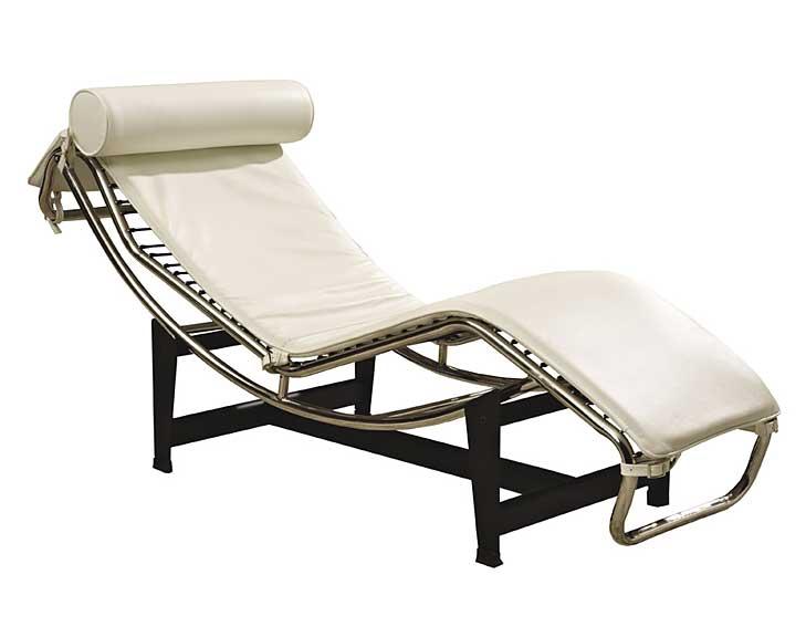 Chaise longue blanca Lecce