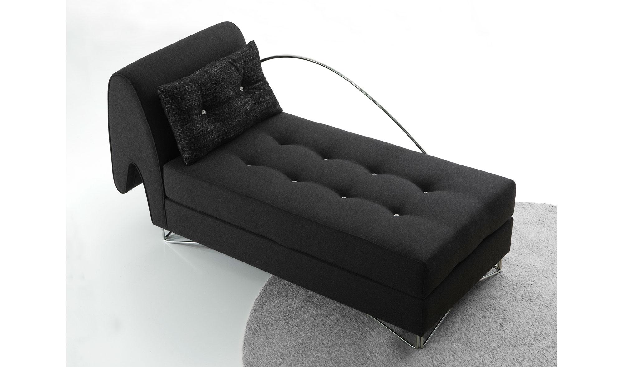 chaise longue moderno saurio en. Black Bedroom Furniture Sets. Home Design Ideas