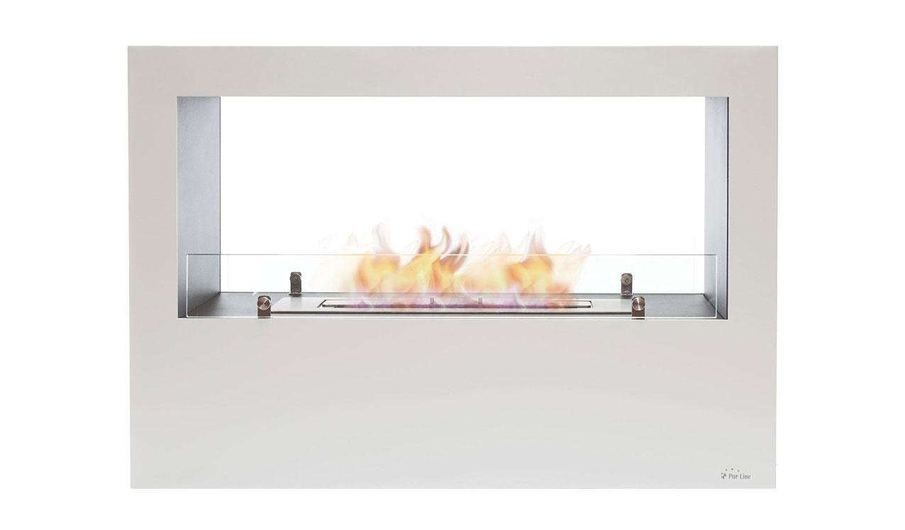 chimenea bioetanol blanca design - Chimenea Bioetanol