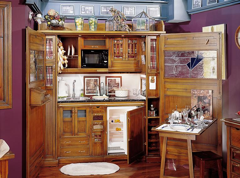 Cocina rustica hamptons en for Muebles de cocina rusticos fotos