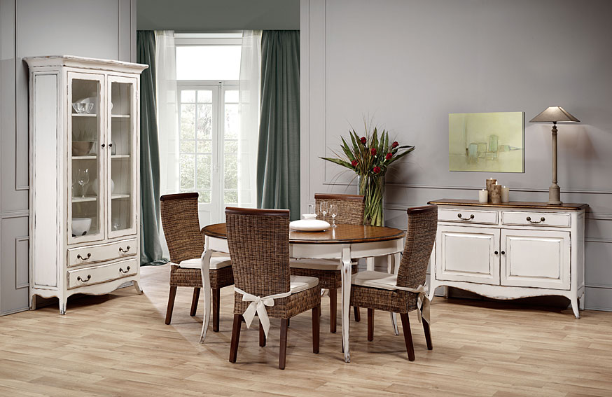 Comedor 1 chantal no disponible en for Mueble provenzal frances