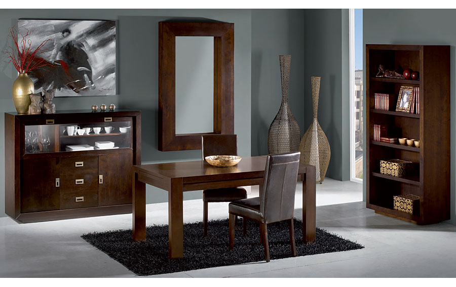 Comedor colonial baton rouge extensible no disponible en for Muebles de comedor redondos