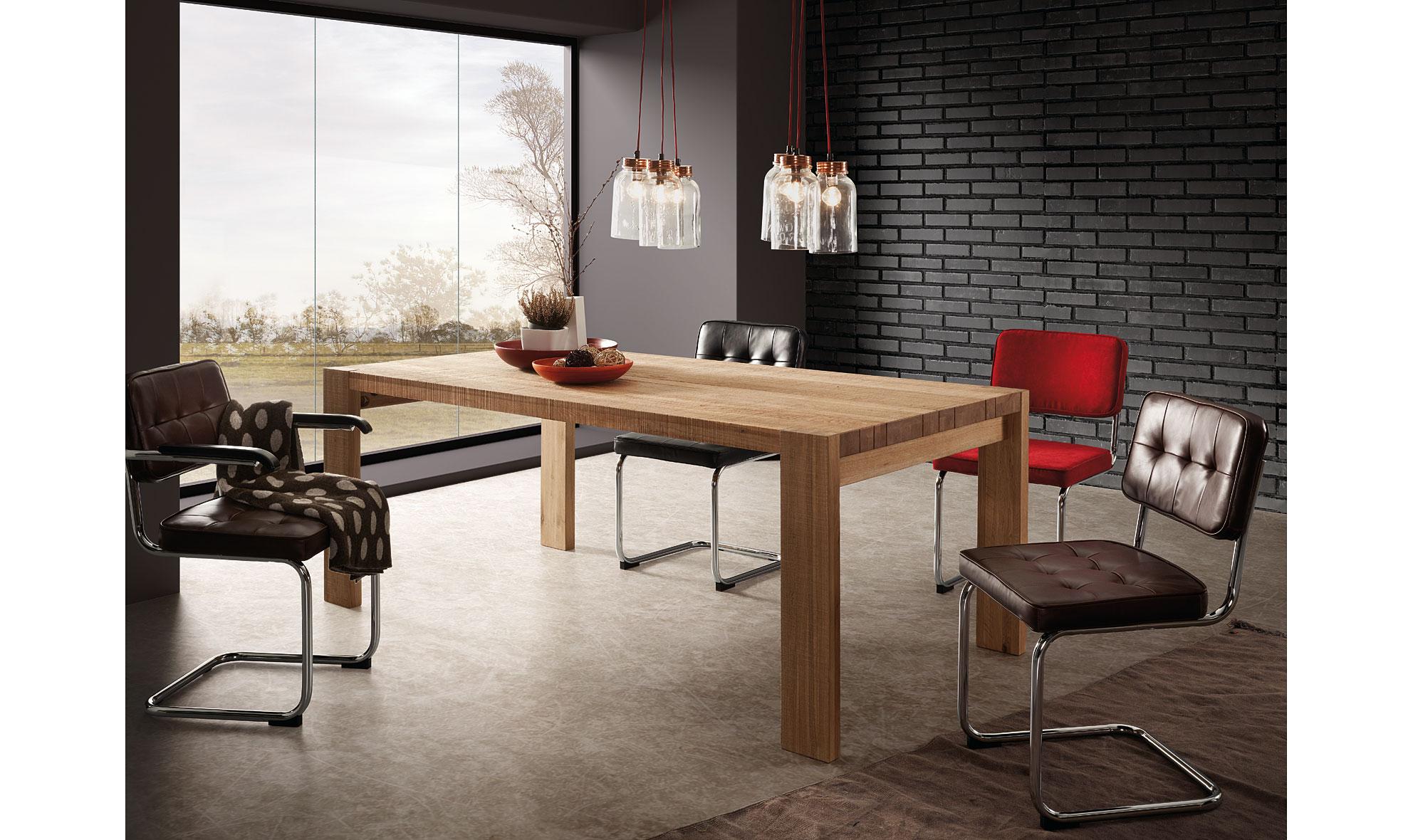 Mesa de comedor vintage jorg de lujo en portobellodeluxe for Tu muebles catalogo