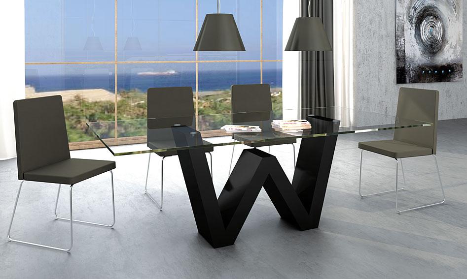 Comedor moderno wanda no disponible en for Muebles para comedor modernos