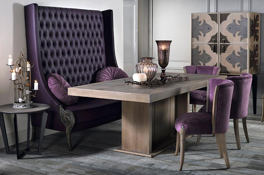 Comedor vintage troyano en for Decoracion para muebles de comedor