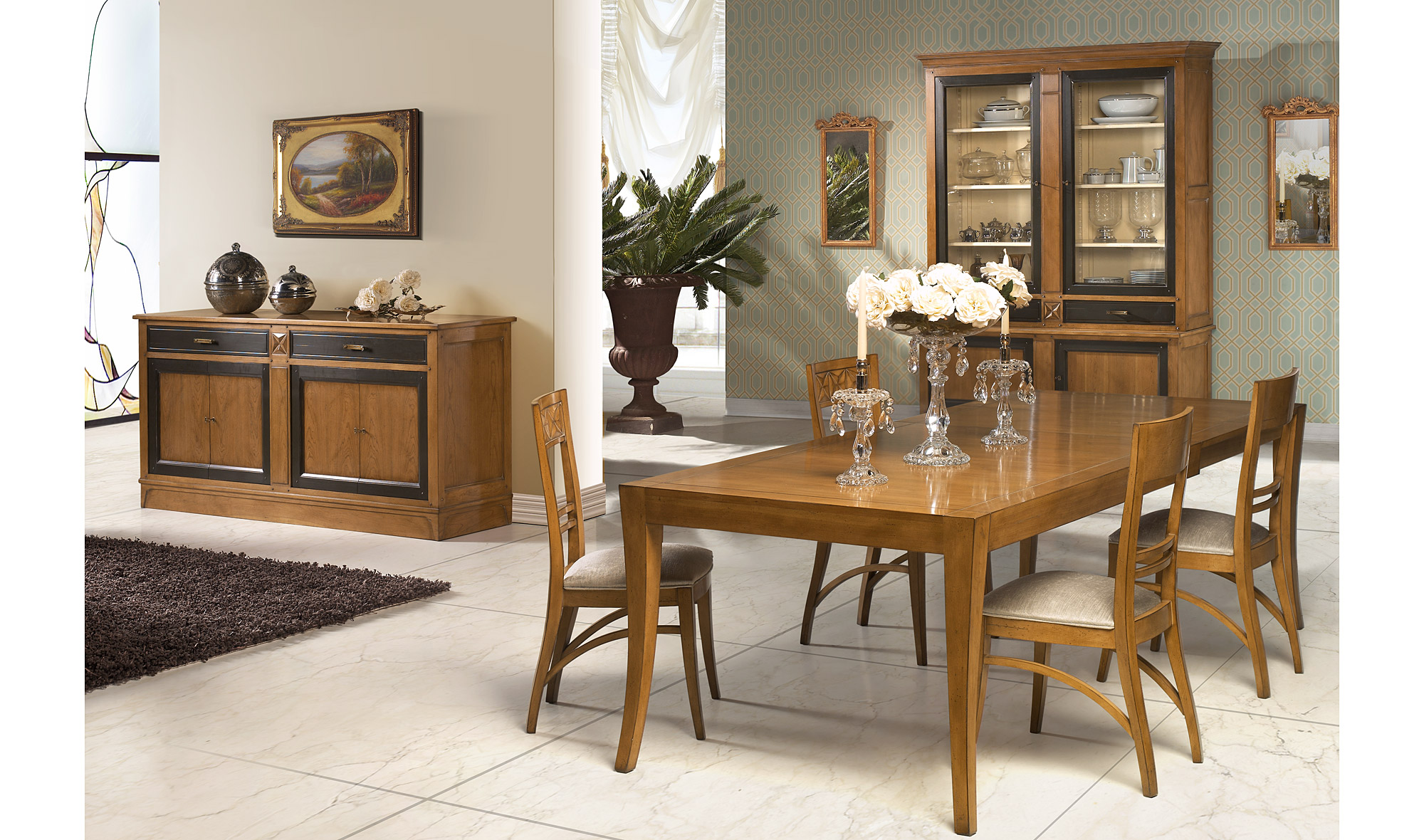 Comedor cl sico romeo en for Muebles de decoracion online