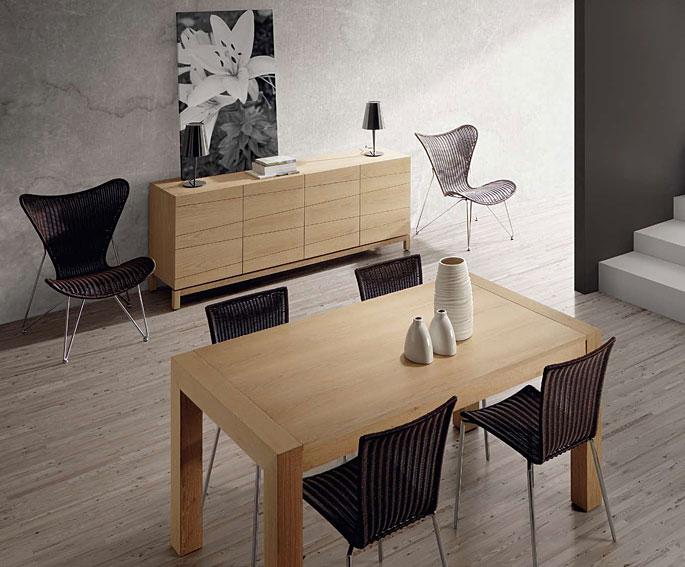 Comedor de madera natural noosa no disponible en - Muebles de madera natural ...