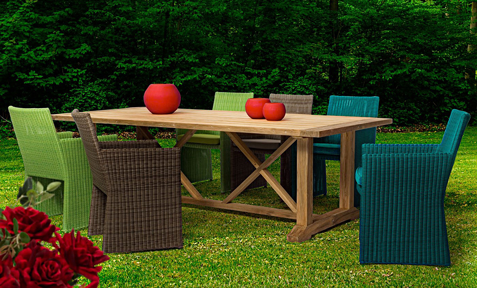 Comedor de jard n bradford no disponible en for Comedor para jardin