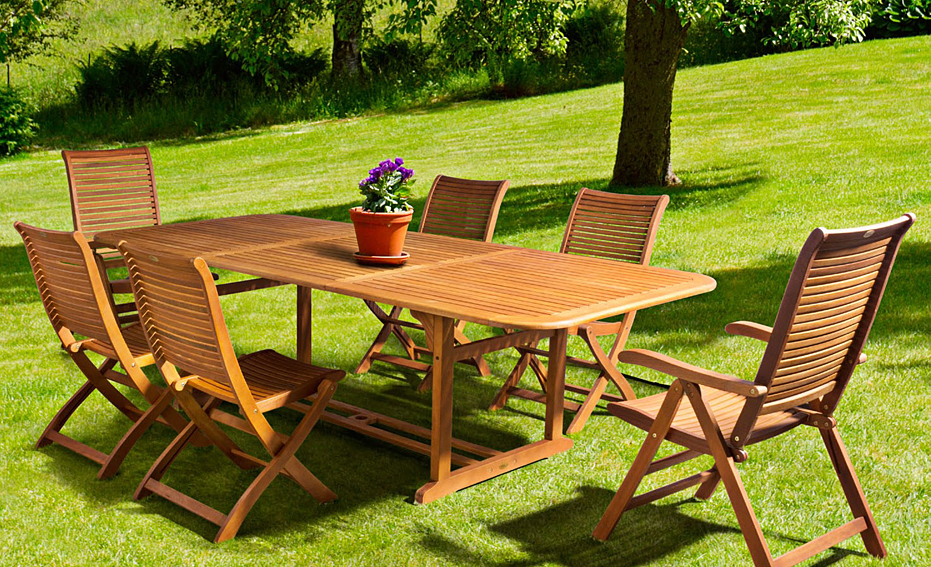 Comedor de jard n rett river no disponible en for Comedor para jardin
