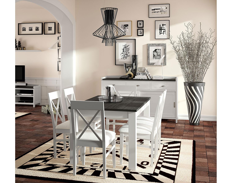 Comedor vintage provenzal tosca verona en - Como pintar un salon moderno ...