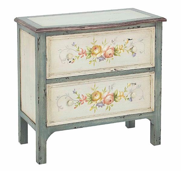 Comod n 2 cajones vintage fenicia no disponible en for Restauracion muebles vintage