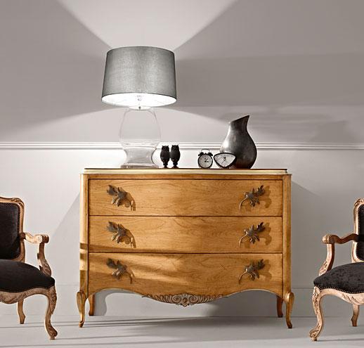 C moda 3 cajones vintage gala en - Muebles comodas clasicas ...