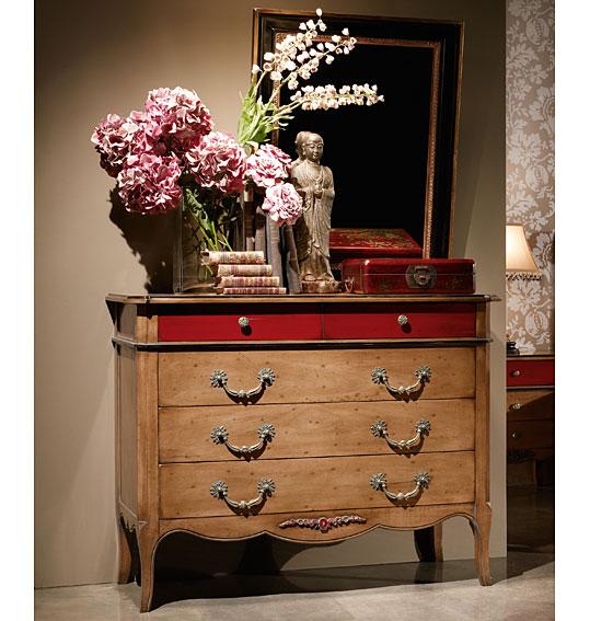 C moda 5 cajones cl sica style en - Muebles comodas clasicas ...