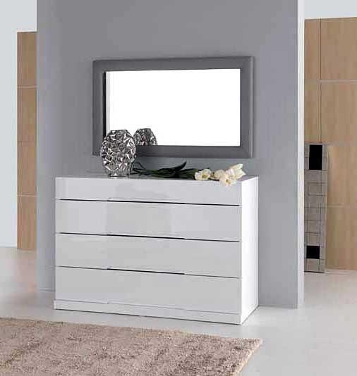 C moda blanca bali en for Comodas modernas para dormitorio
