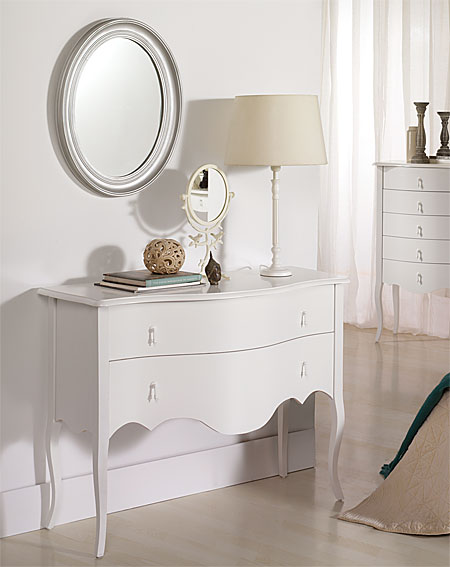 C moda vintage blanca astoria no disponible en - Comodas antiguas blancas ...