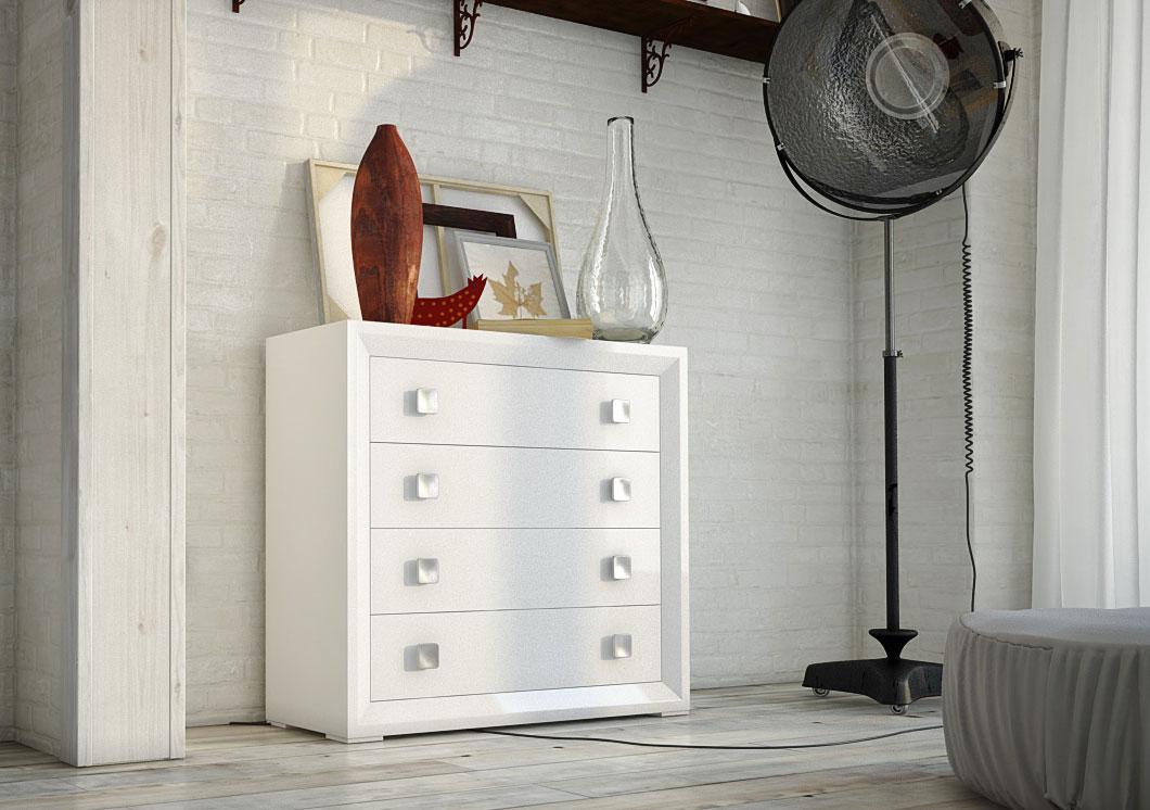 C moda blanca savoy lig defectos de lujo en - Comoda blanca conforama ...