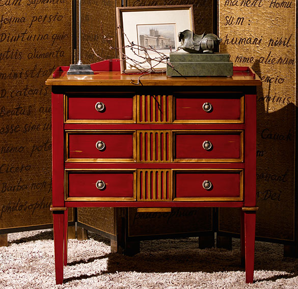 Comod n 3 cajones cl sico penafiel en cosas de - Muebles comodas clasicas ...