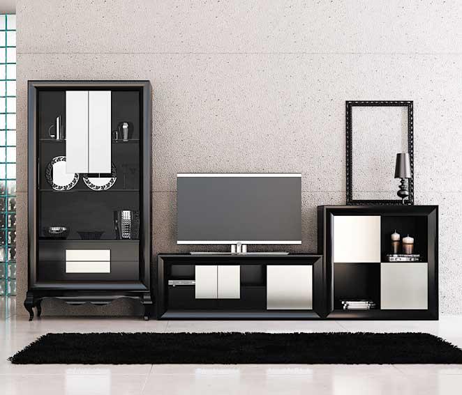 Salon moderno beatriz no disponible en for Muebles de salon modernos