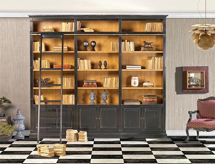 Librer a cl sica meredith en for Muebles librerias para salon