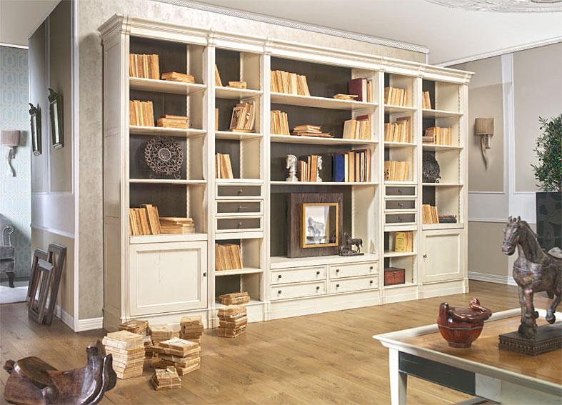 Librería clásica Flaubert de lujo en Portobellodeluxe.com. Tu tienda ...