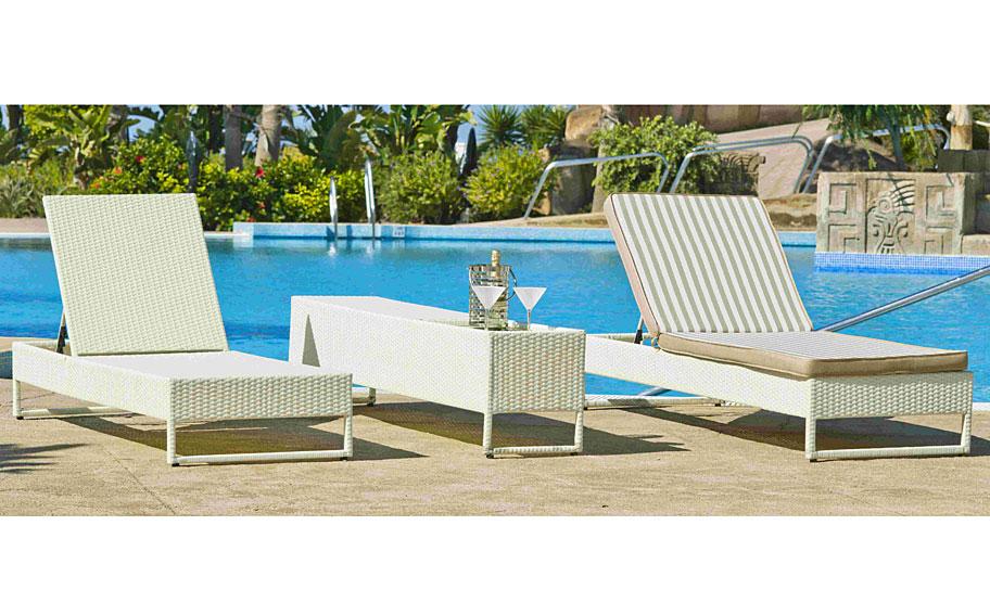 Muebles Martin Peñasco:  Conjunto Jardín Petunia - Salones para jardín - Muebles de Jardín