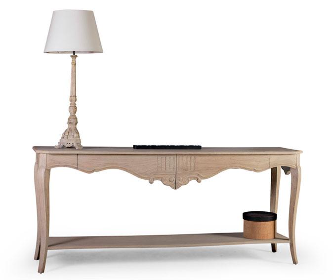 Consola 2 cajones nive vintage artisan en cosas de for Artisan muebles
