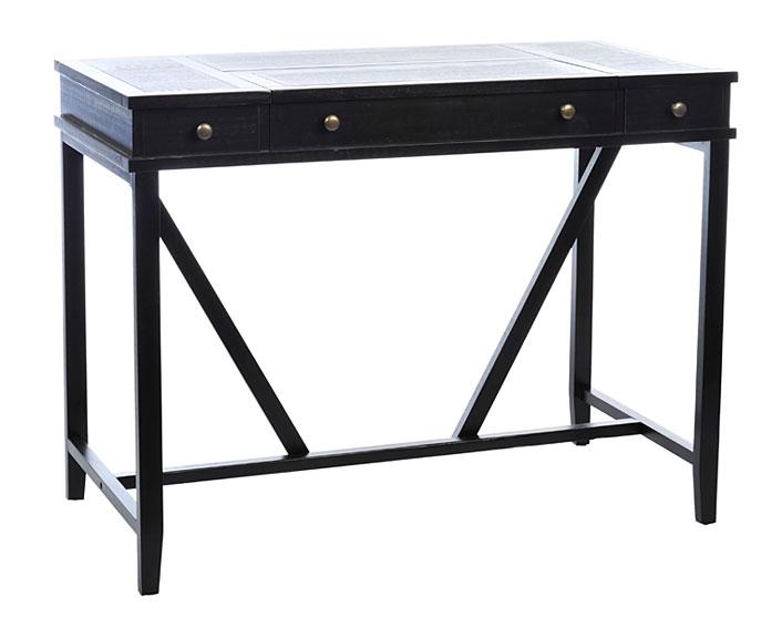Mesa de Escritorio 2 cajones negro Benaize no disponible en