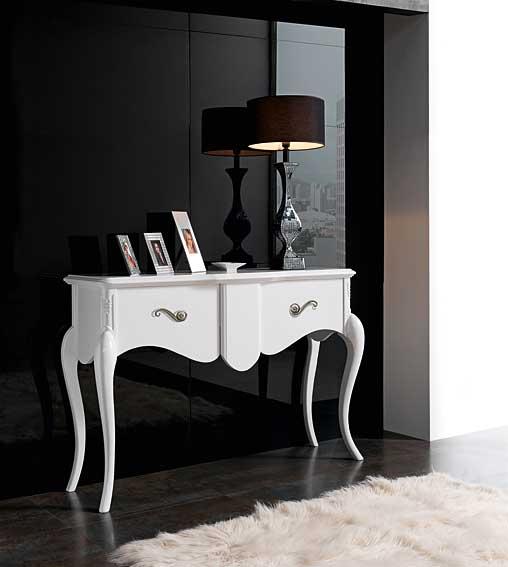 Consola blanca espelho no disponible en - Muebles para consolas ...