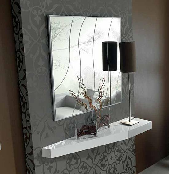 Consola moderna caulker en - Consola muebles entrada ...