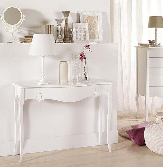Consola vintage blanca astoria no disponible en - Pintar muebles estilo vintage ...
