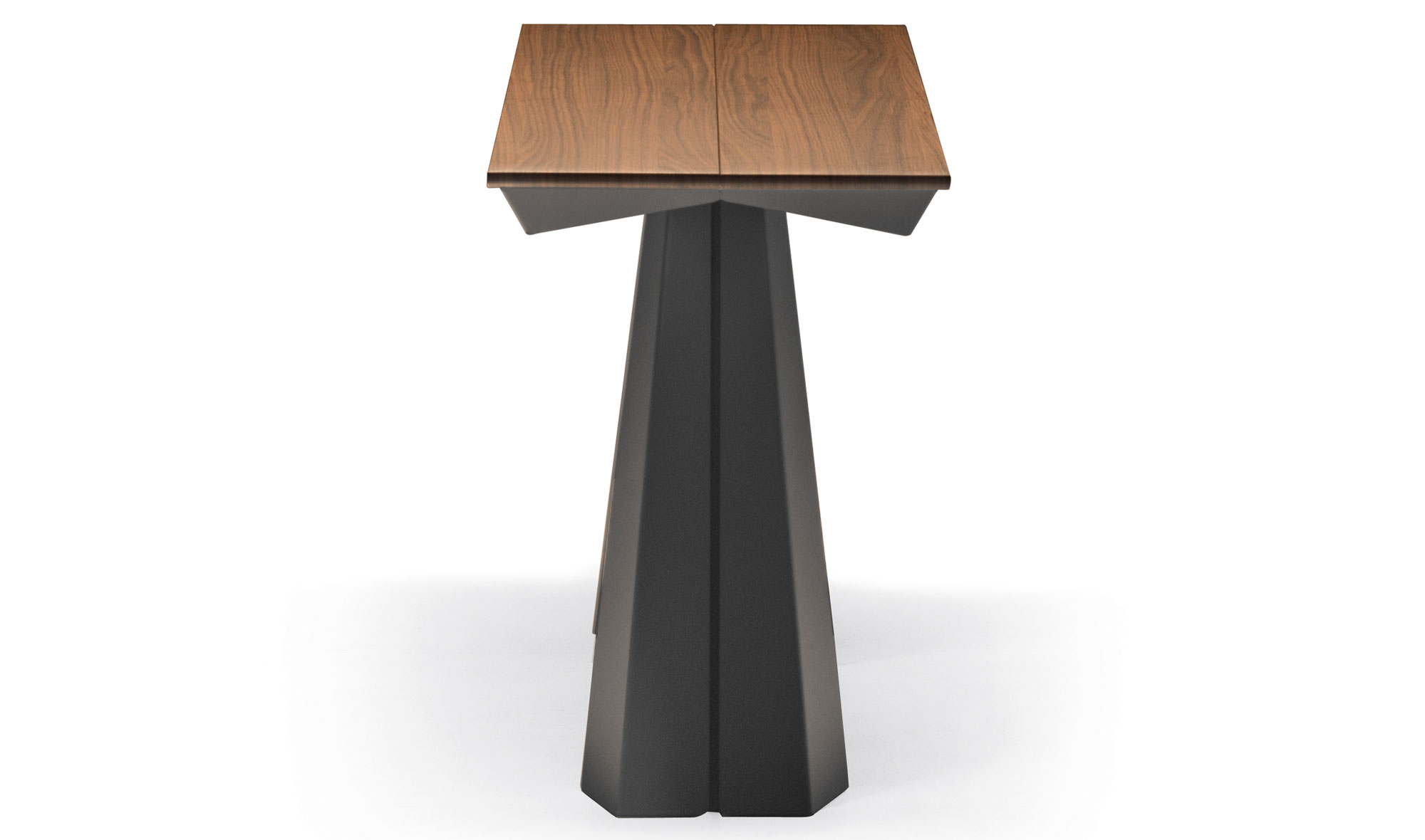 Consola mesa de comedor 3 extensibles convivium cattelan - Mesa auxiliar extensible ...