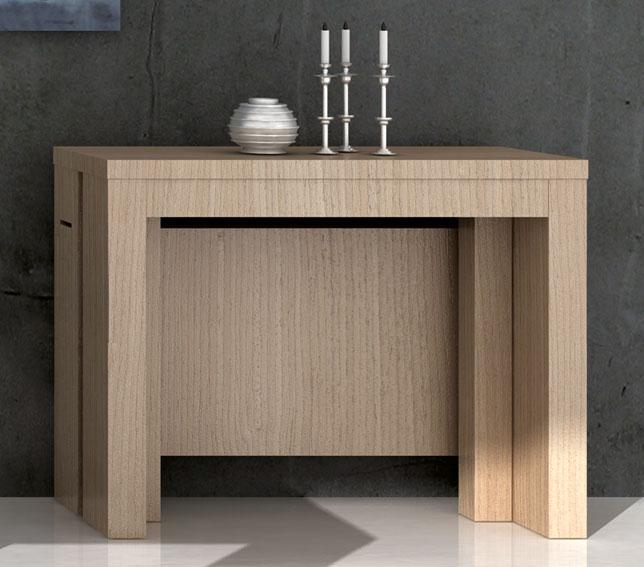 Consola mesa de comedor moderna angela en for Muebles consolas